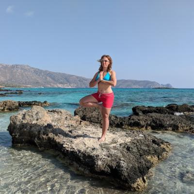 sue beach greece square